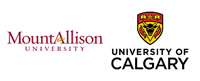 Mount Allison University and University of Calgary logos